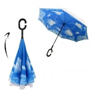 מטריה הפוכה פטנט מיוחד