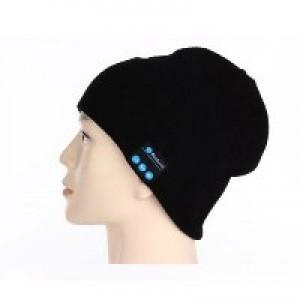 כובע גרב עם אוזניות בלוטוס ודיבורית