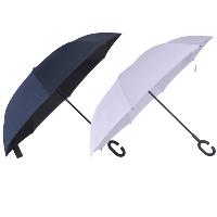 מטריה מתהפכת במבחר צבעים