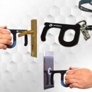 מפתח קורונה לפתיחה וללחיצה ללא מגע